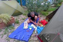 Campingplatz in Bozen, Autor: Charlotte Moser