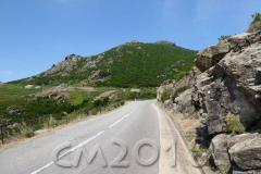 Korsika, Col de Teghime, Autor: Charlotte Moser