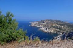 Korsika, auf der D81B unterwegs nach Galeria, Autor: Charlotte Moser