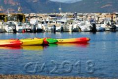 Korsika, am Strand von Galeria, Autor: Charlotte Moser