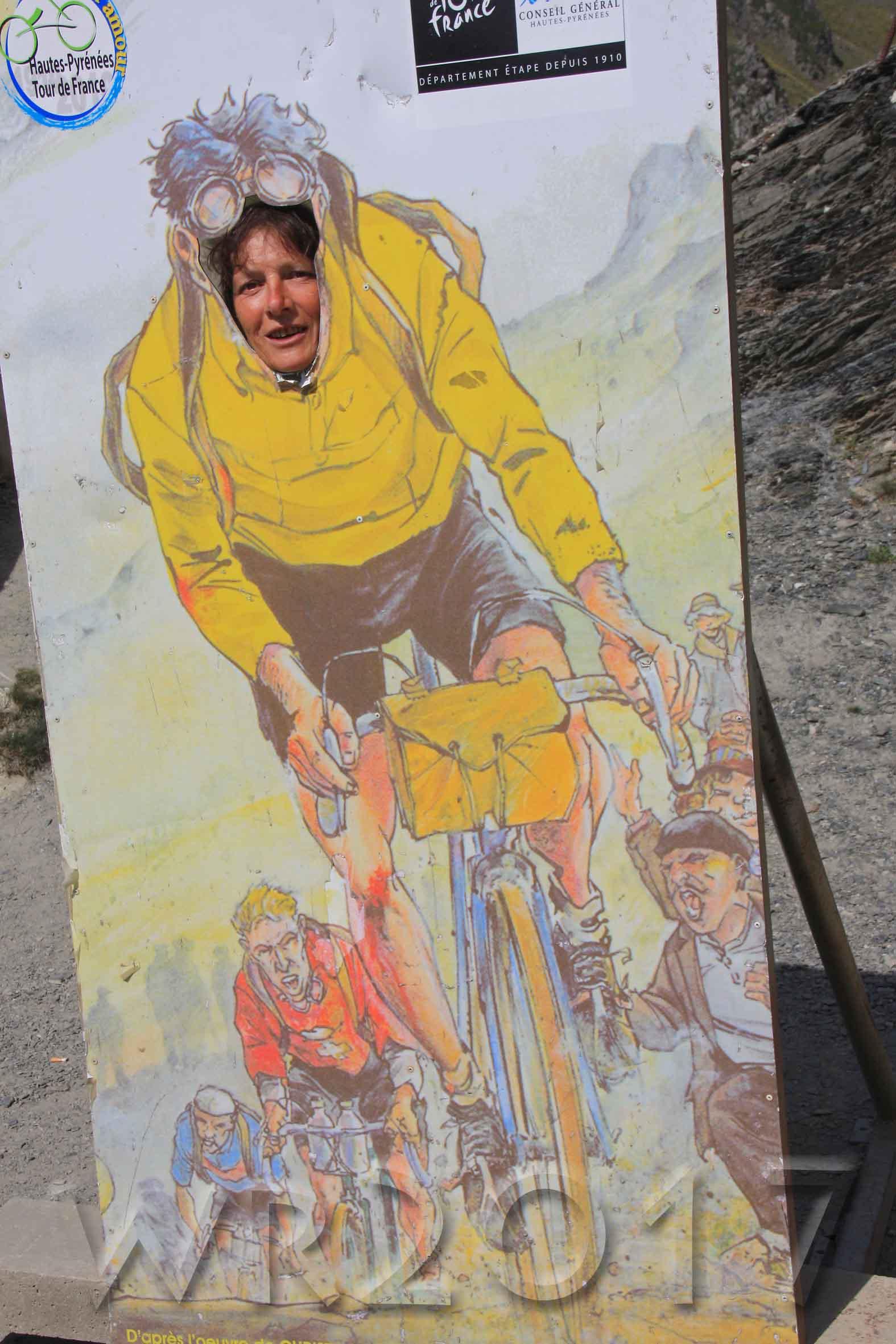 Col du Tourmalet, 2017, Autor: Wolfgang Randelzhofer