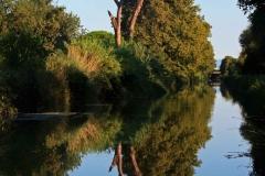Bei Gruissan, Canal de la Robine, Autor: Charlotte Moser