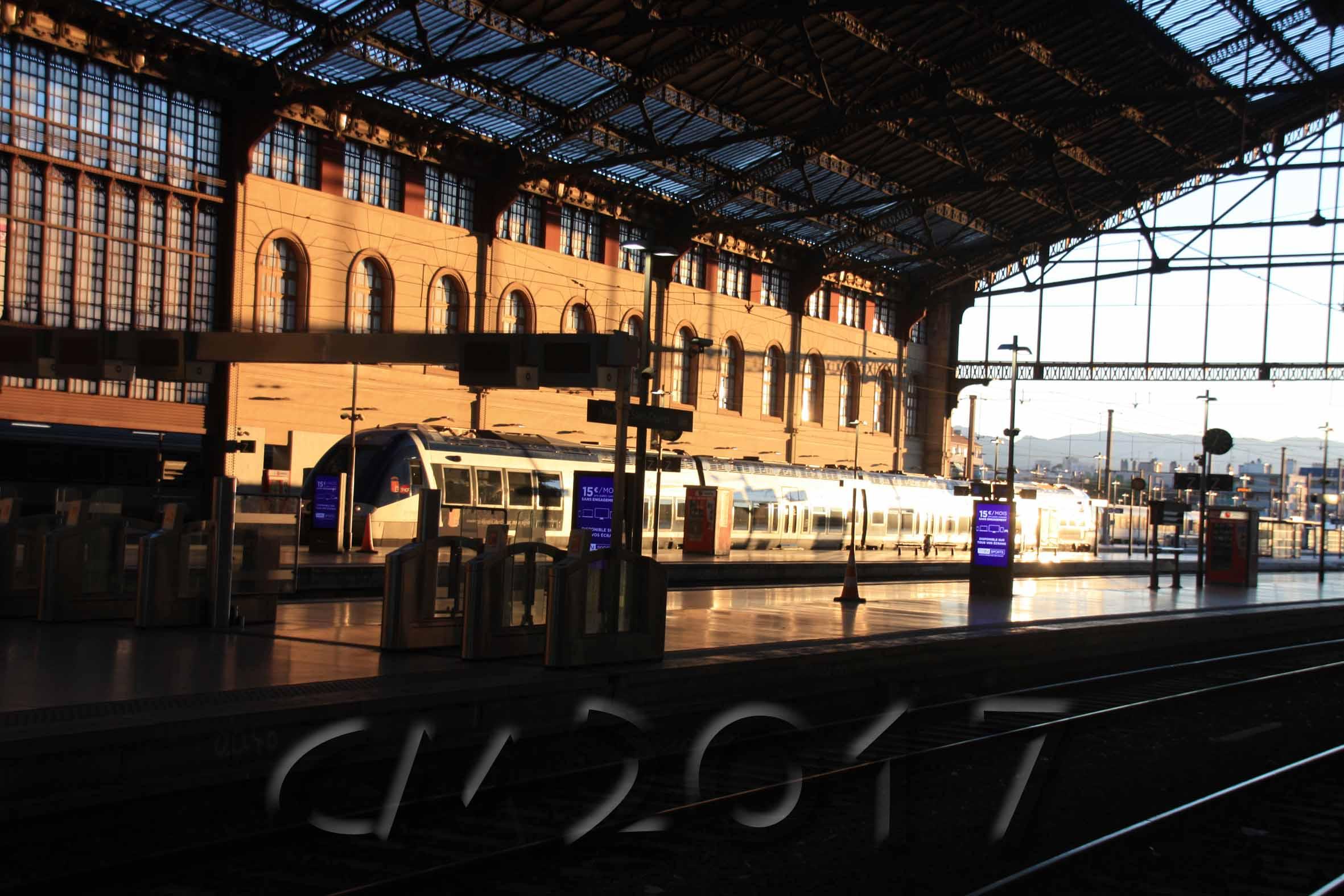 Marseille, Gare Saint-Charles, Autor: Charlotte Moser