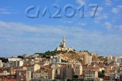 Marseille, Blick auf Notre Dame de la Garde, Autor: Charlotte Moser