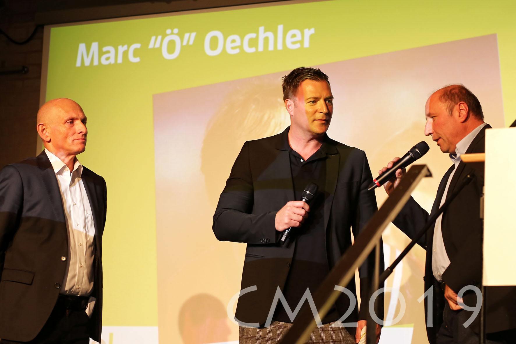 "Magnat Sportgala 2019, Marc ""Ö"" Oechler, Autor: Charlotte Moser"