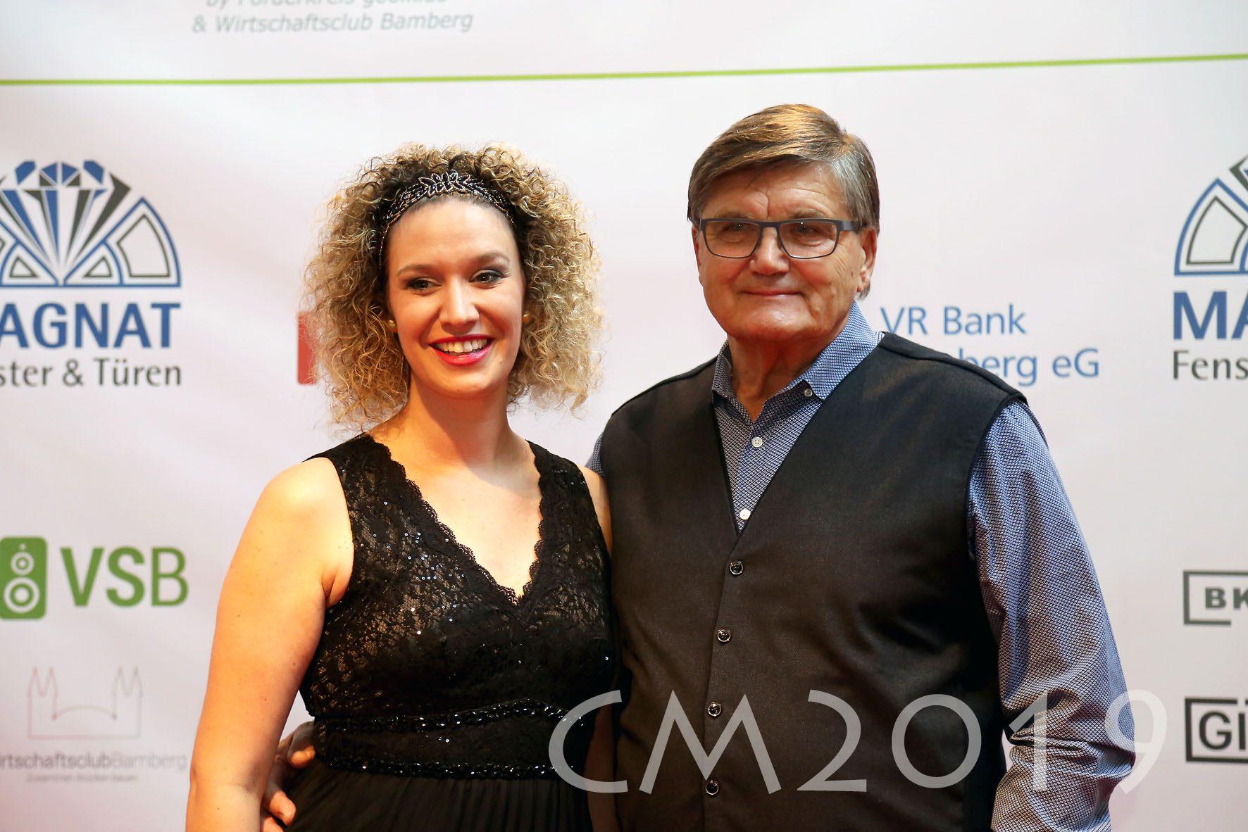 Magnat Sportgala 2019, Anna Niedermeier und Hans Meyer, Autor: Charlotte Moser