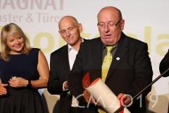 Magnat Sportgala 2019, Wolfgang Heyder, Robert Bartsch, Autor: Charlotte Moser