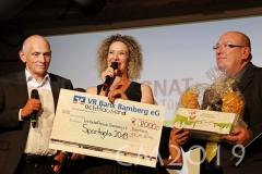 Magnat Sportgala 2019, Anna Niedermeier, Wolfgang Heyder, Robert Bartsch, Autor: Charlotte Moser