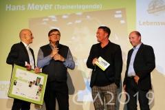 "Magnat Sportgala 2019, Hans Meyer, Marc ""Ö"" Oechler, Autor: Charlotte Moser"