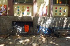 Die Räder sind gesattelt, Autor: Charlotte Moser