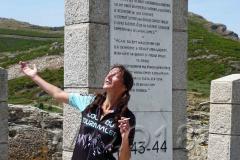 Korsika, Col de Teghime, Endlich oben! Autor:Wolfgang Randelzhofer
